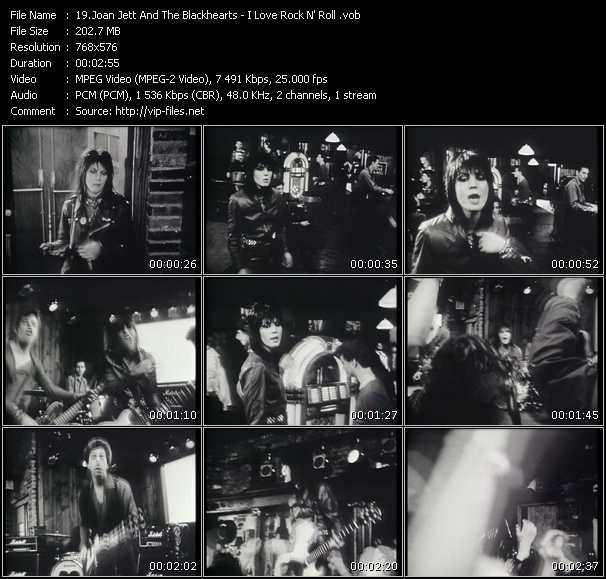 Joan Jett And The Blackhearts - I Love Rock 'N Roll