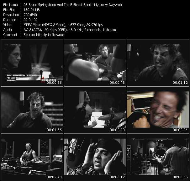 Bruce Springsteen And The E Street Band - My Lucky Day
