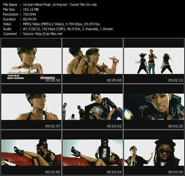 Keri Hilson Feat. Lil' Wayne - Turnin' Me On