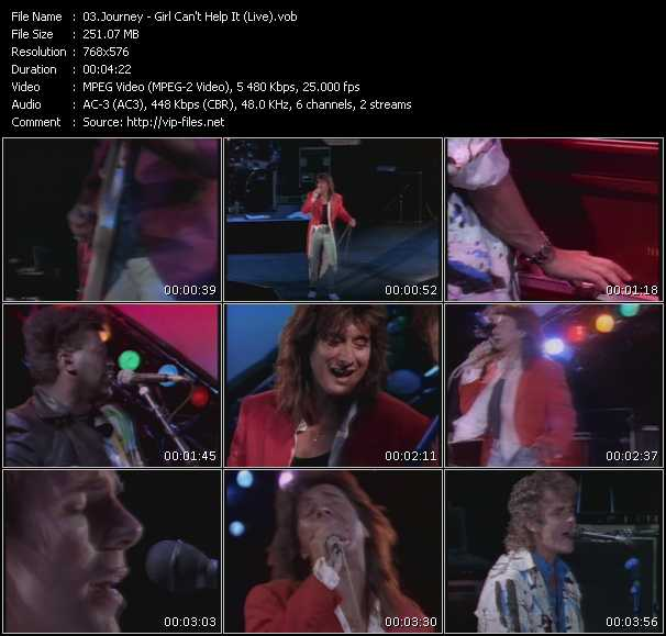 Journey - Girl Can't Help It (Live)