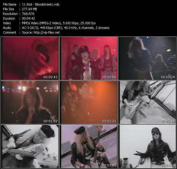 Riot - Bloodstreets