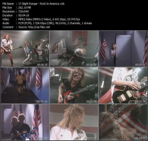 Night Ranger - Rock In America