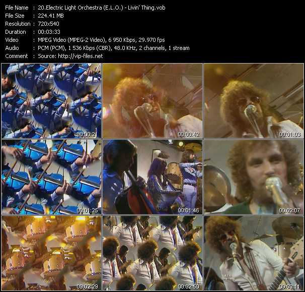 Electric Light Orchestra (E.L.O.) - Livin' Thing