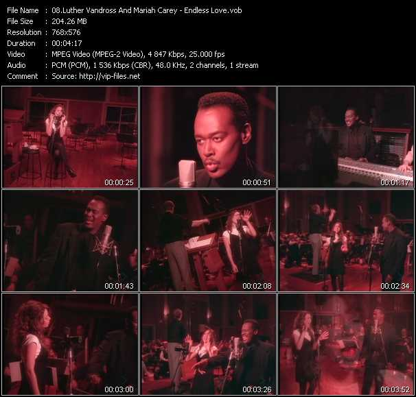 Luther Vandross And Mariah Carey - Endless Love
