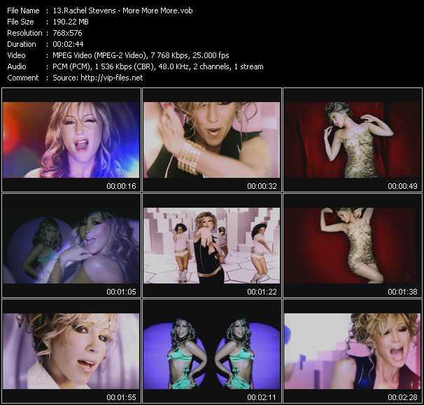 Rachel Stevens - More More More