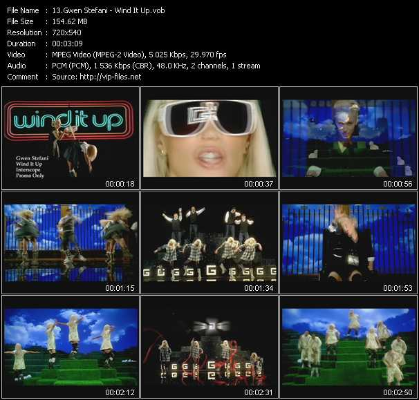 Gwen Stefani - Wind It Up