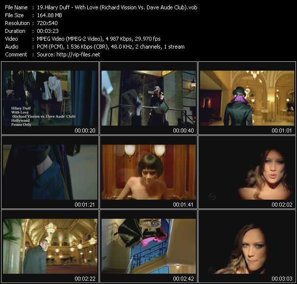 Hilary Duff - With Love (Richard Vission Vs. Dave Aude Club)