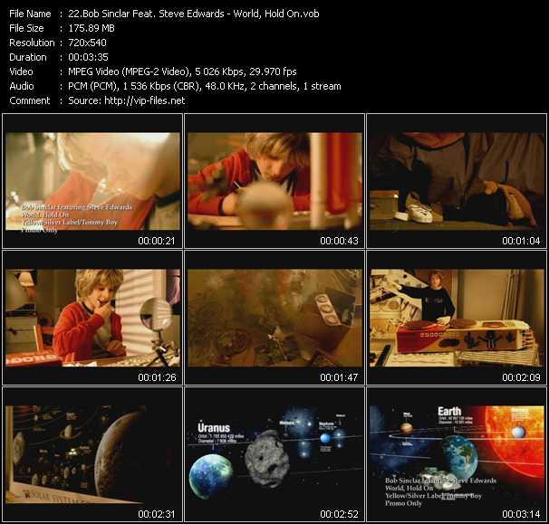 Bob Sinclar Feat. Steve Edwards - World, Hold On