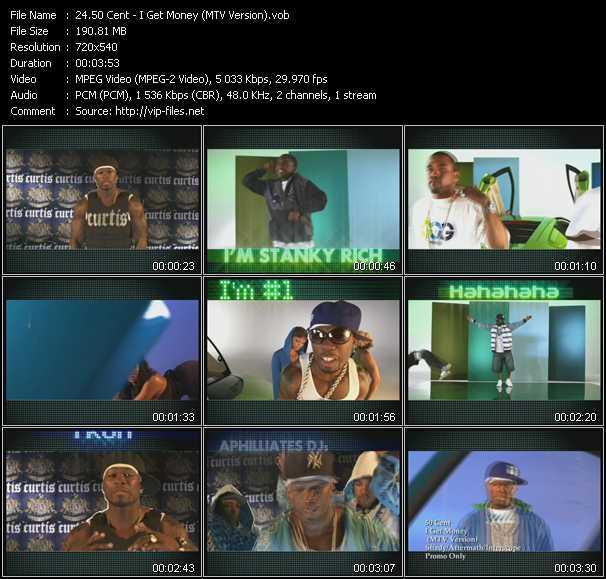 50 Cent - I Get Money (MTV Version)