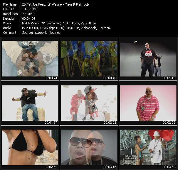 Fat Joe Feat. Lil' Wayne - Make It Rain