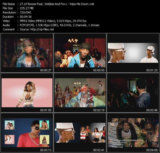 Lil' Boosie Feat. Webbie And Foxx - Wipe Me Down