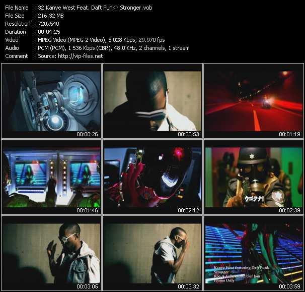 Kanye West Feat. Daft Punk - Stronger