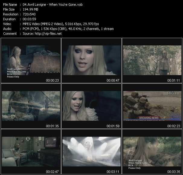 Avril Lavigne - When You're Gone
