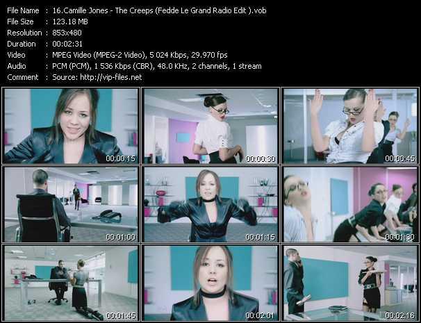 Camille Jones - The Creeps (Fedde Le Grand Radio Edit)