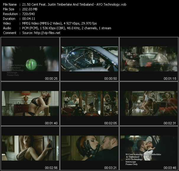 50 Cent Feat. Justin Timberlake And Timbaland - AYO Technology