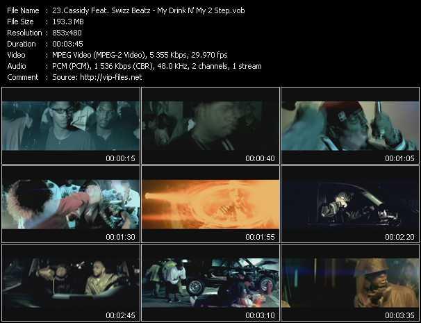 Cassidy Feat. Swizz Beatz - My Drink N' My 2 Step