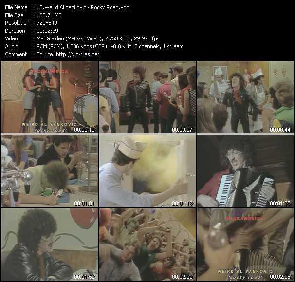 Weird Al Yankovic - Rocky Road