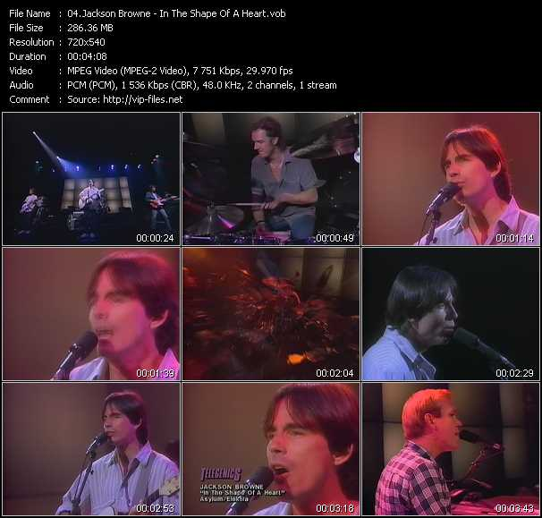 Jackson Browne - In The Shape Of A Heart