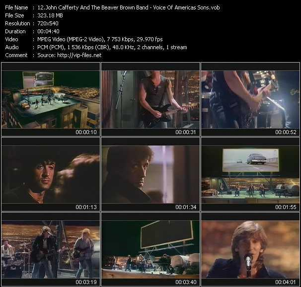 John Cafferty And The Beaver Brown Band - Voice Of America's Sons