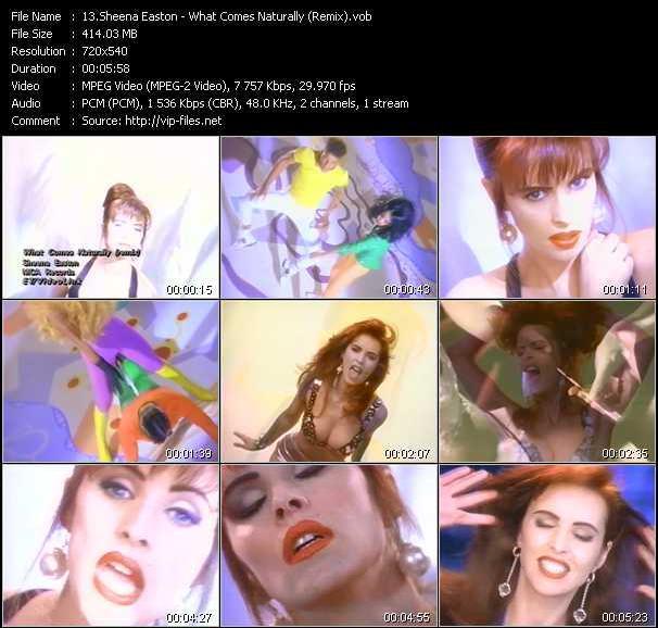 Sheena Easton - What Comes Naturally (Remix)
