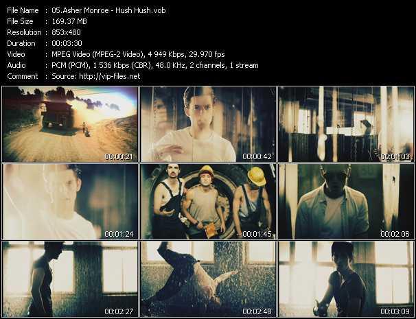 Asher Monroe - Hush Hush