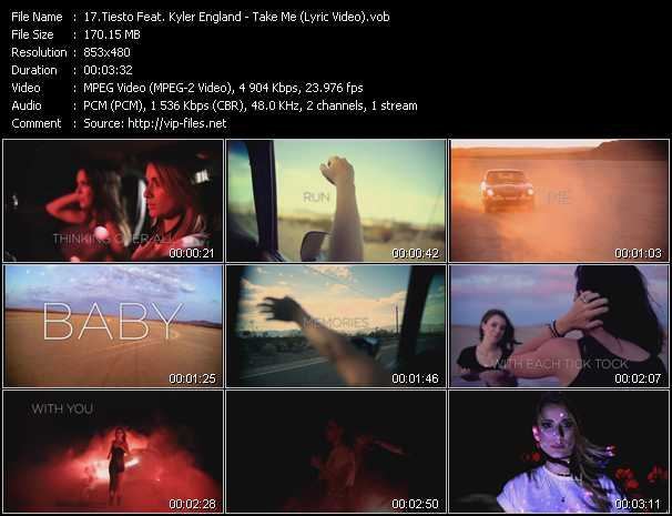Tiesto Feat. Kyler England - Take Me (Lyric Video)