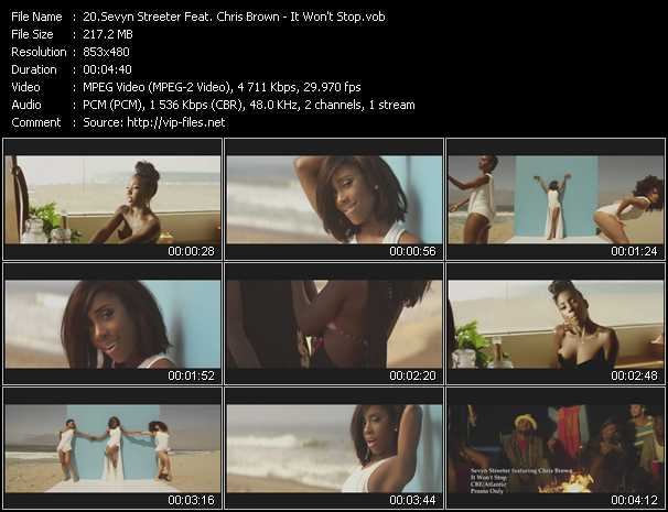 Sevyn Streeter Feat. Chris Brown - It Won't Stop