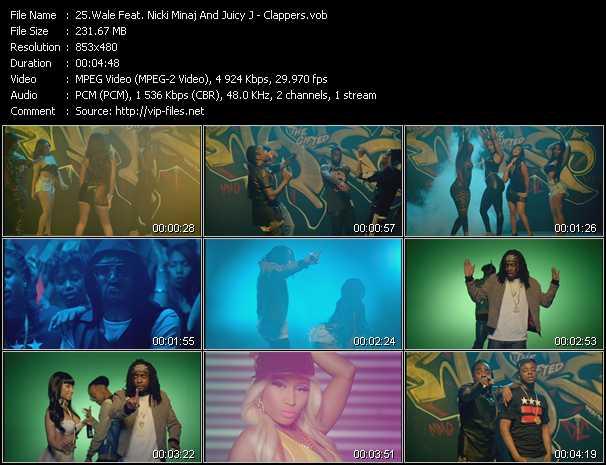 Wale Feat. Nicki Minaj And Juicy J - Clappers