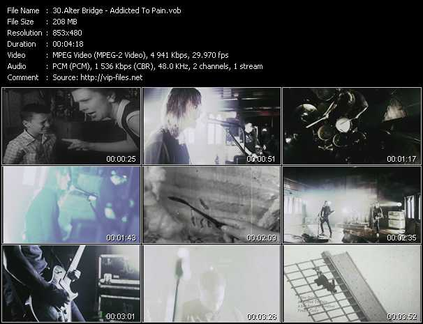 Alter Bridge - Addicted To Pain