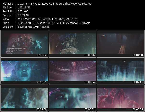 Linkin Park Feat. Steve Aoki - A Light That Never Comes
