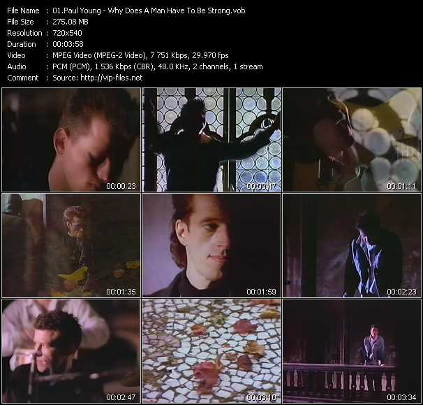 Paul Young - Why Does A Man Have To Be Strong?