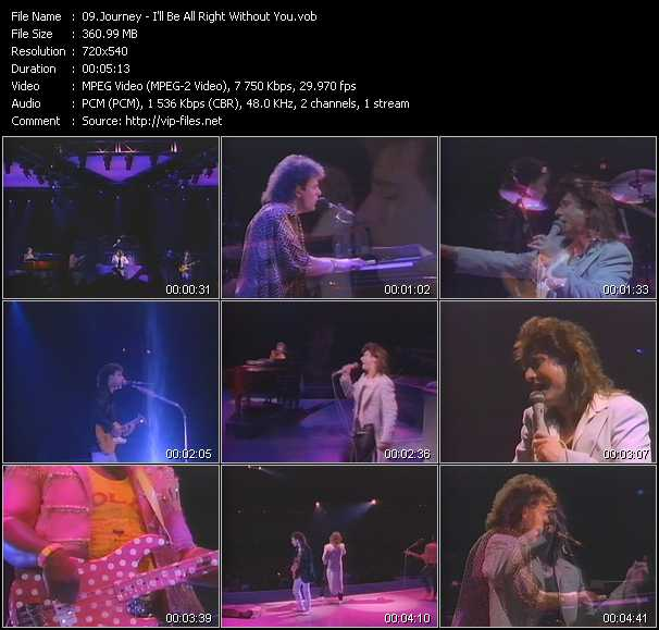 Journey - I'll Be Allright Without You