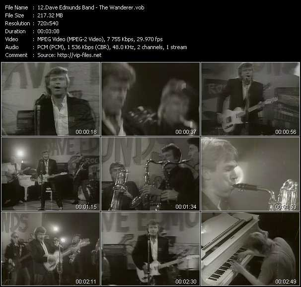 Dave Edmunds Band - The Wanderer