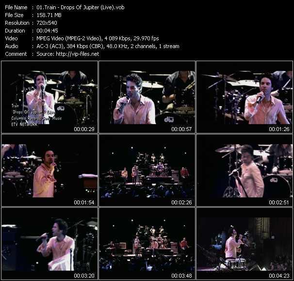 Train - Drops Of Jupiter (Live)
