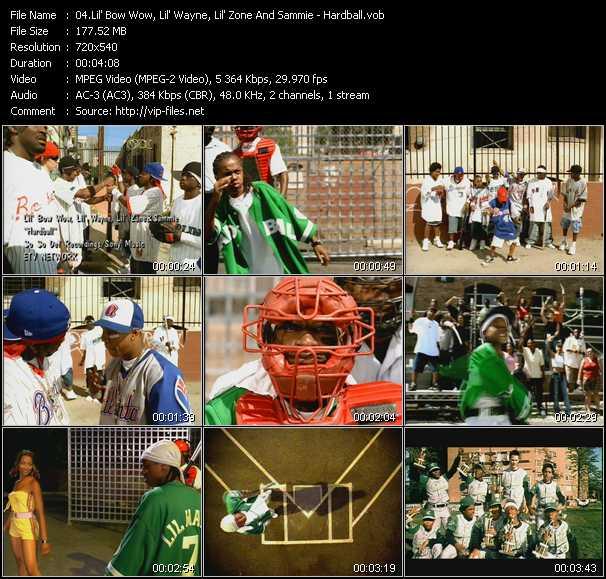 Lil' Bow Wow, Lil' Wayne, Lil' Zone And Sammie - Hardball