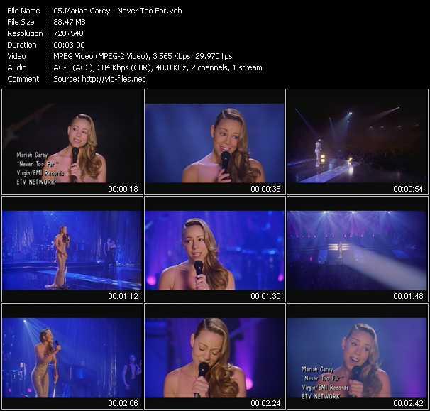Mariah Carey - Never Too Far