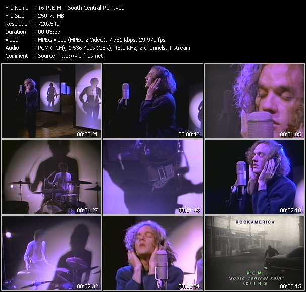 R.E.M. - South Central Rain