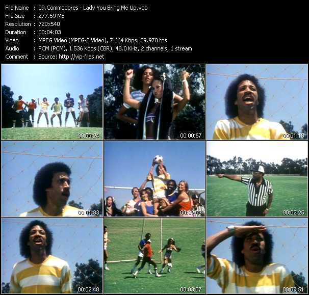 Commodores - Lady You Bring Me Up