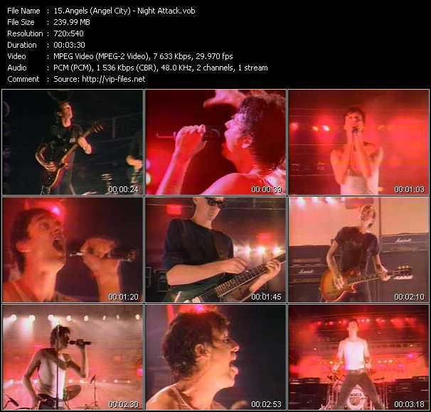 Angels (Angel City) - Night Attack