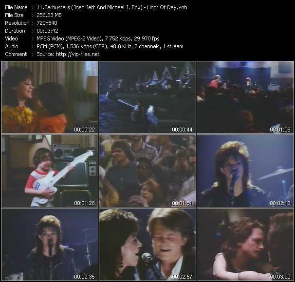 Barbusters (Joan Jett And Michael J. Fox) - Light Of Day