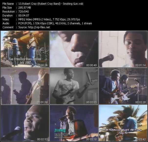 Robert Cray (Robert Cray Band) - Smoking Gun
