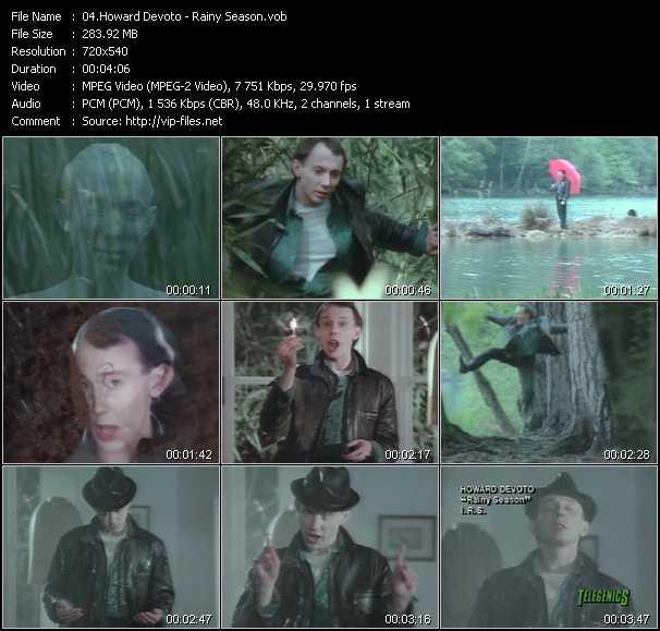 Howard Devoto - Rainy Season