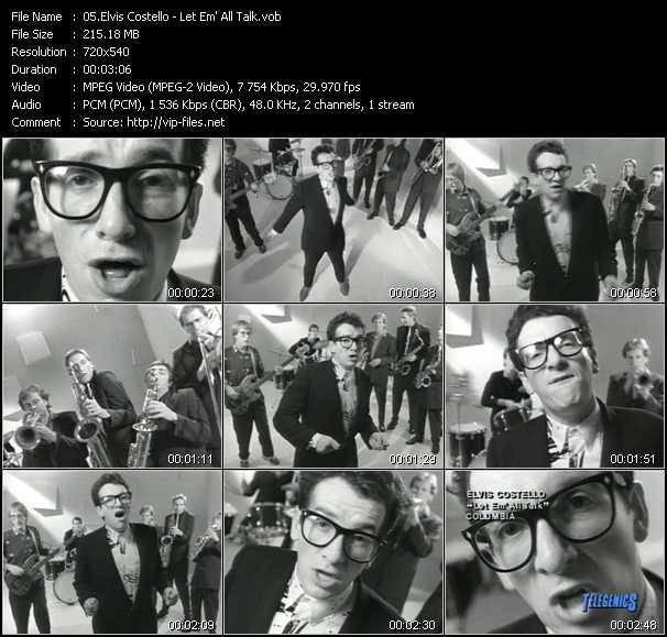Elvis Costello - Let Em' All Talk