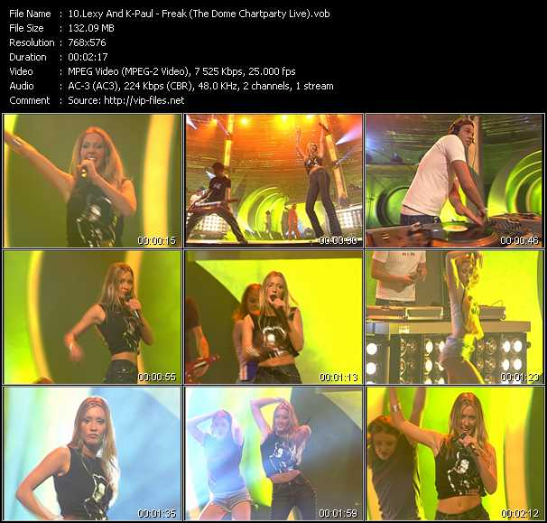 Lexy And K-Paul - Freak (The Dome Chartparty Live)