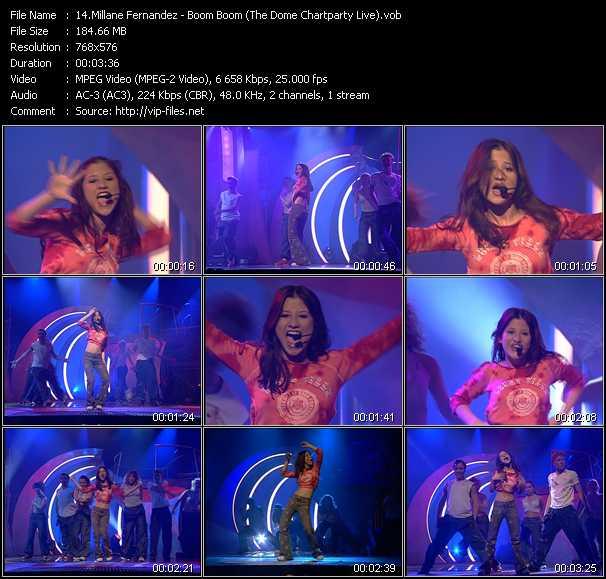 Millane Fernandez - Boom Boom (The Dome Chartparty Live)