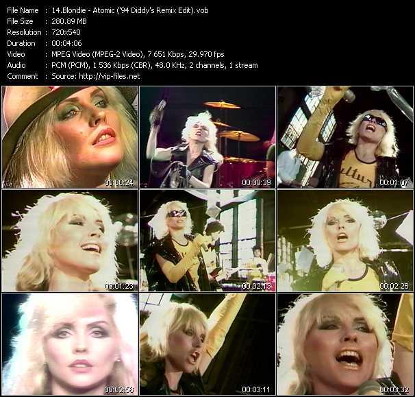 Blondie - Atomic ('94 Diddy's Remix Edit)