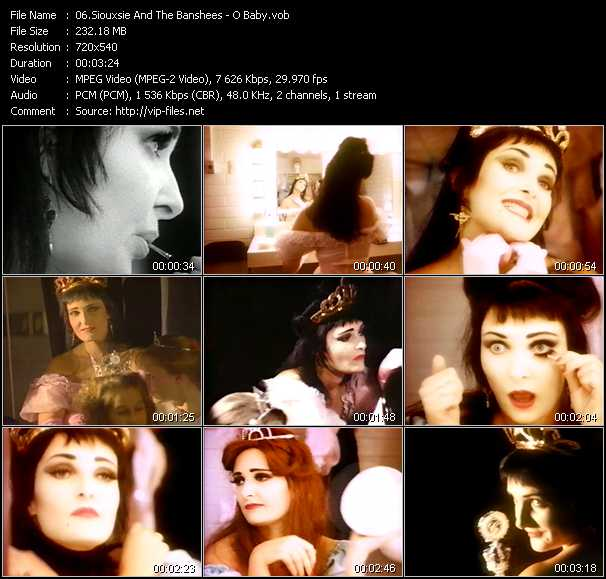 Siouxsie And The Banshees - O Baby