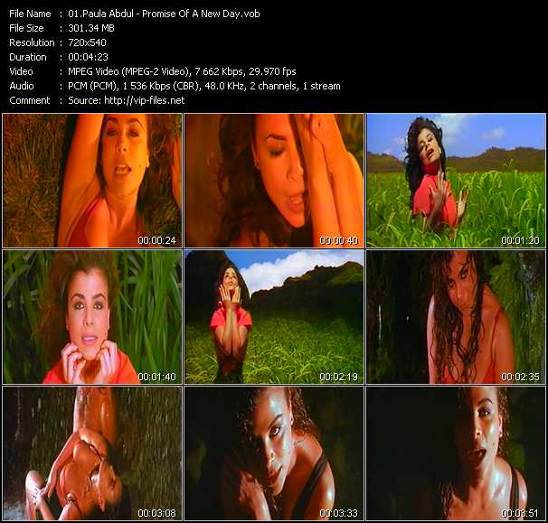 Paula Abdul - Promise Of A New Day