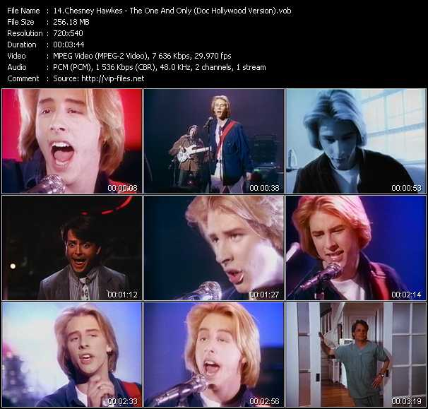 Chesney Hawkes - The One And Only (Doc Hollywood Version)
