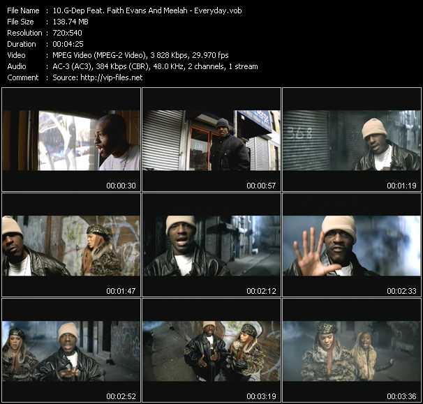 G-Dep Feat. Faith Evans And Meelah - Everyday